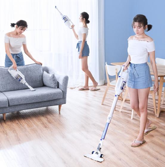 灰尘去无踪,家用手持吸尘器助力健康生活